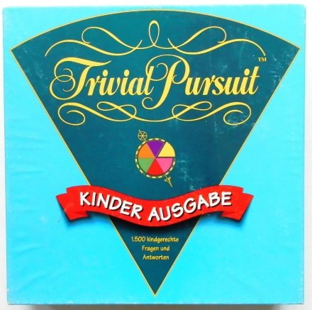 (Hasbro 19607100 - Trivial Pursuit Kinder Edition)