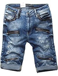 Cipo & Baxx Herren Jeans Shorts Bermuda CK142