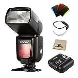 Godox Thinklite TTL TT685S Camera Flash High Speed 1/8000s GN60 for Sony DSLR Cameras a77II a7RII a7R a58 a99 ILCE6000L (TT685S+X1T-S)