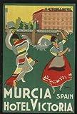 Etiqueta Hotel Antigua - HOTEL VICTORIA - Murcia. Diseño de Garay
