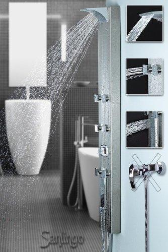 Duschpaneel Duschsäule Edelstahl Wasserfall für MELANGEUR