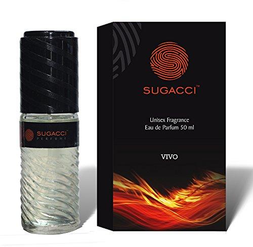 Sugacci Vivo Eau de Parfum for Men and Women - Unisex Perfume with International Fragrance - 50 ml