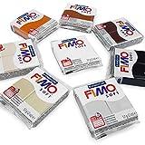 Fimo Soft Polymer Ofen Modelliermasse–57G–Set von 8–Earth Tones