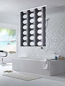 halb kassetten duschrollo duschvorhang 120cm breite loca. Black Bedroom Furniture Sets. Home Design Ideas