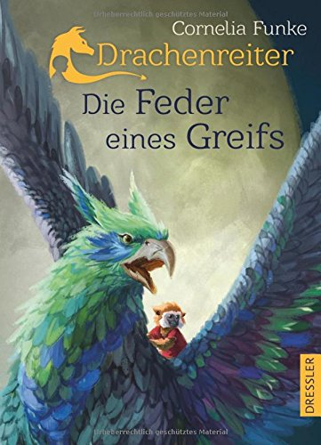 Buchseite und Rezensionen zu 'Drachenreiter -Die Feder eines Greifs' von Cornelia Funke