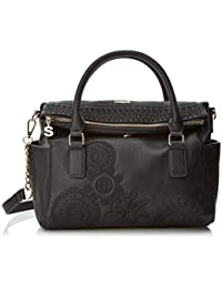 Desigual - Bols_dark Amber Loverty, Borsa Donna