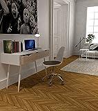 Beat Collection - Silla giratoria, metal, blanco/negro,...