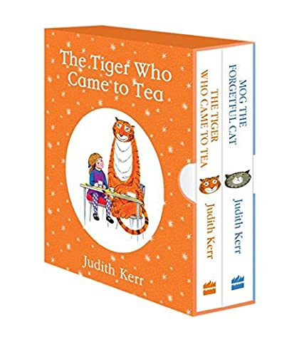 The Tiger Who Came to Tea / Mog the Forgetful Cat by Kerr, Judith (November 5, 2015) Board book