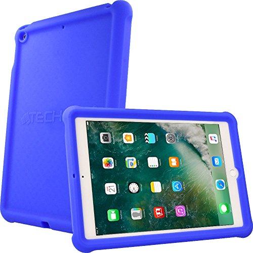techgearr-bumper-case-for-new-apple-ipad-97-2017-rugged-heavy-duty-anti-shock-rubber-protective-case