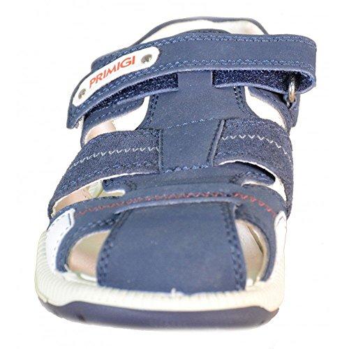 Primigi - Primigi Sandales Petit Garçon Velcro Cuir Bleu 69380 Bleu