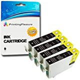 Printing Pleasure 4 Black Compatible 29Xl Printer Ink Cartridges For Epson Expression Home Xp-235, Xp-245, Xp-247, Xp-332, Xp-335, Xp-342, Xp-345, Xp-432, Xp-435, Xp-442, Xp-445 / T2991