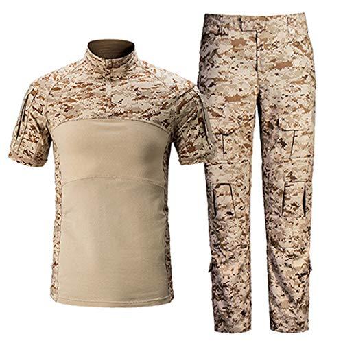 Herren Militär Bekleidung Sommer Taktische Uniformen Tarn T-Shirts Desert S -