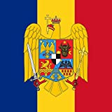 magFlags Drapeau XL Standard of Marshal Ion Antonescu | Standard of Romanian Marshal en Ion Antonescu used on his car in Berlin on November 23 1940, the day he signed the Anti-comintern Pact and Tripa