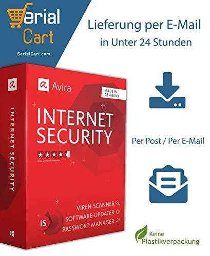 Avira Internet Security Suite 2020 | 1 Gerät / 1 Jahr | von SerialCart [Aktivierungscode per Post/Download]