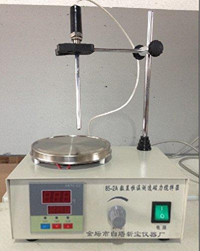 Preisvergleich Produktbild Gowe Magnetrührer Heizung Teller, Platten Mixer, Geschwindigkeit und Temperatur Display, 220V oder 110V