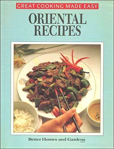 Oriental Recipes (Better Homes & Gardens Books)