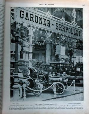 ARMEES & MARINE ARMES & SPORTS N°304 6E ANNEE DECEMBRE 1904 - Le salon de l'automobile - la visite des stands - chez TONY HUBER - le carburateur CLAUDEL - la maison G.RICHARD BRASIER - les moteurs ASTER 1905 - le partinium - les voitures BROUHOT etc.