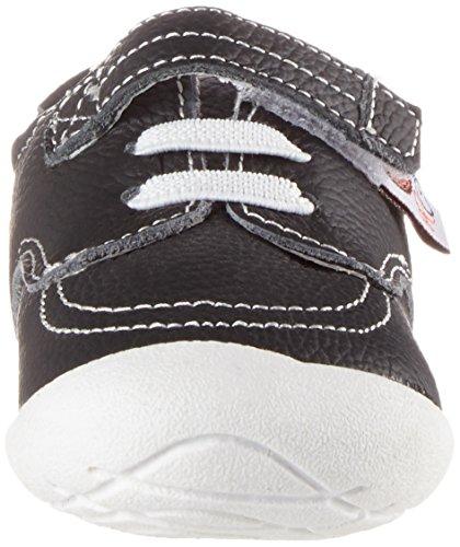 Rose & Chocolat Sneakers Black, Chaussures Marche Bébé Garçon Noir