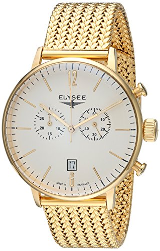 Elysee Mens Watch Classic Stentor chronograph 13273M