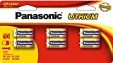 Panasonic Fotobatterie CR123A, Lithium, 6er-Pack