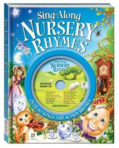 Sing-along Nursery Rhymes Book and Cd