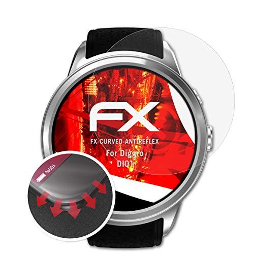 atFoliX Protettiva di Schermo alta Protezione compatibile con Diggro DI01 Anti-Shock Pellicola protettiva, antiriflesso e...