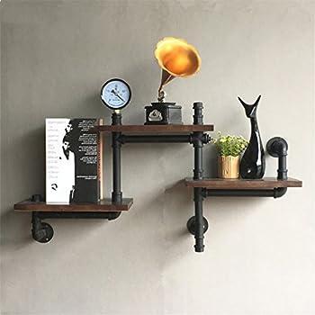 Schweberegale Vintage industrielle Holz Wand Wand hängen
