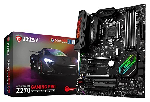 MSI Z270 Gaming Pro Carbon Carte mère Intel Socket LGA 1151