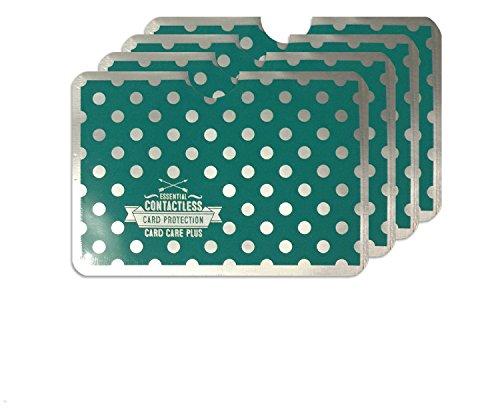 fundas-protectoras-rfid-nfc-para-tarjetas-de-credito-diseno-de-lunares-4-unidades-color-verde