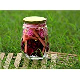FLUFFICK Gifts Jar With Your Personalised (Secret) Love Messages For Him Or Her Birthday Gifts, Anniversary Gifts And Valentines Day Gifts Especially (Pink)
