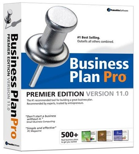 Palo Alto Business Plan Pro Premier Edition Version 11.0 (PC)