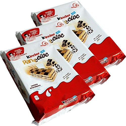 Kinder PaneCioc Süssbrotschnitte mit Schokoladenfüllung 3er Set (3x300g Packung)