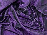 Crushed Strukturierte Taft Kleid Stoff Dark