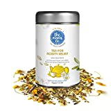 #6: The Moms Co. Tea for Acidity Relief, 100% Caffeine Free Herbal Tea helps Ease Acidity, Heartburn and Morning Sickness, 50g (25-30 Cups)