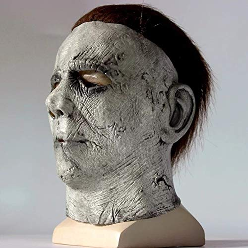 en Hot Film Latex Horror Michael Myers Maske Erwachsene Cosplay Vollgesichts Halloween Kostüm Party Requisiten Masken ()