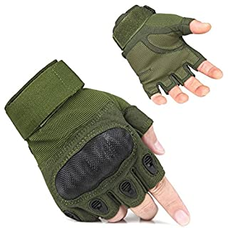 [Fahrradhandschuhe] Adogo Verbesserte Herrenhandschuhe, Langfingerhandschuh, touchscreenfähig