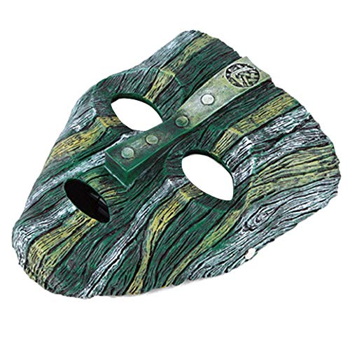 Umiwe The Mask Jim Carrey Harz Maske, Loki Maske für Kostüm Party Halloween Weihnachten Kostüm Grüne ()