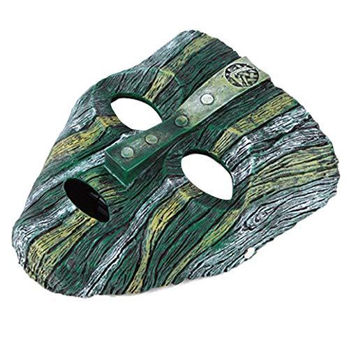 FOONEE Kunstharz Loki Maske Deluxe Jim Carrey die Maske Halloween Neuheit Kostüm (Jim Carrey Kostüm)