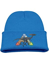 Kids Beanie Hat Ark Survival Evolved Game Dinosaur Skull Cap In 4 Colors