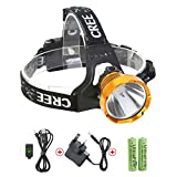 Best Headlights - Neolight Rechargeable Headlamp, Super Bright Waterproof CREE T6 Review