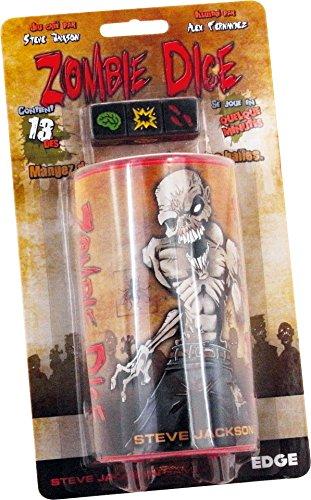Asmodée UBIZD01 Würfel und- Würfelspiel Zombie Dice (Würfel Zombies)