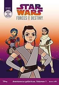 Star Wars. Forces Of Destiny. Aventureras galácticas 1 par  Star Wars