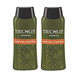 Trichup Hair Fall Control Herbal Hair Shampoo (200 ml x 2) (Pack of 2) + Free Facewash
