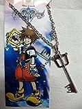 KH Kingdom Hearts Halskette Replica Keyblade Sora Necklace in Metall