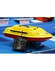 HYZ-842 Fibre de verre professionnel matériel de pêche télécommande 500 mètres bateau capacité d'appât:4KG,Haute vitesse