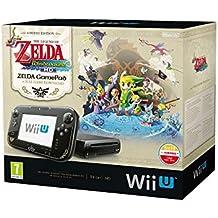 Nintendo Wii U - Konsole, Premium Pack, 32GB, schwarz - The Legend of Zelda - The Wind Waker HD