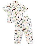 #6: Romano Half Sleeves Trendy Printed Night Suit