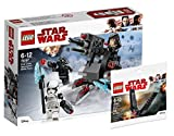 LEGO Star Wars 75197 - First Order Specialists Battle Pack, Spielzeug + Lego 30380 Polybag Kylo Ren´s Shuttle