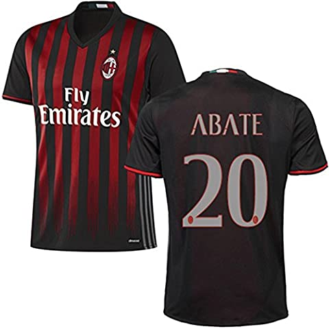 20162017AC Milan Maglietta 20Ignazio Abate casa calcio