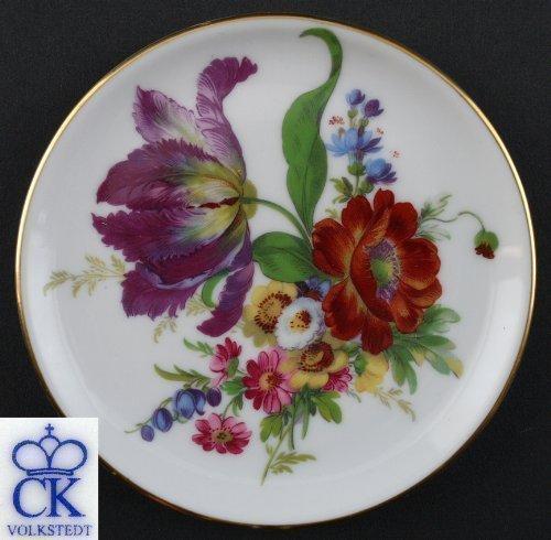 Porcelaine dessous-de-plat grande Fleur